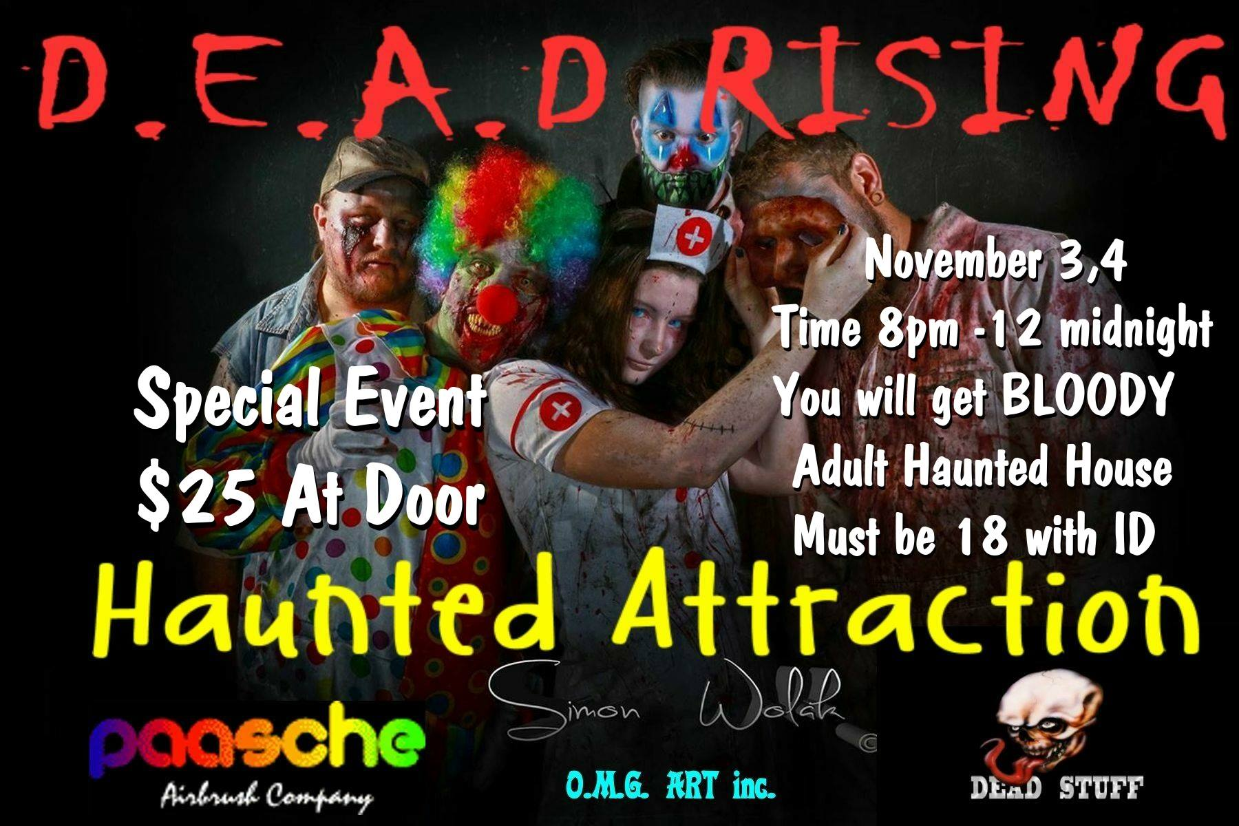 DEAD Rising Haunted House (Alsip, IL)