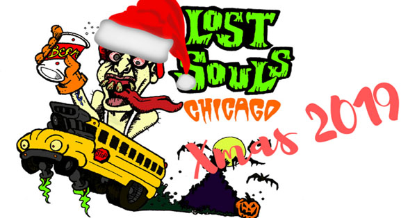 Chicagoland's Premier Haunted House Party Bus is back for their final tour of 2019, the Lost Souls Xmas tour! Join Lost Souls to experience their unique 'Beyond VIP' tours, this time featuring two of Chicagoland's best Christmas-themed haunted houses.