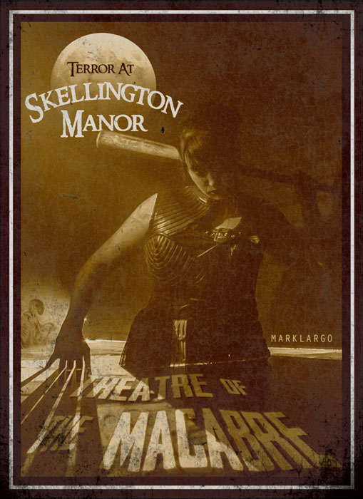 Terror at Skellington Manor returns for 26th season. 2019 Theatre of the Macabre premiers September 28th.