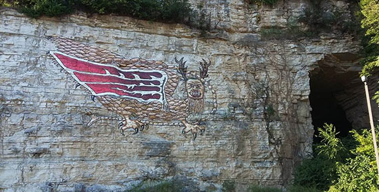 The Piasa Bird was a ferocious creature that terrified local Native Americans and created a legend of it's own.