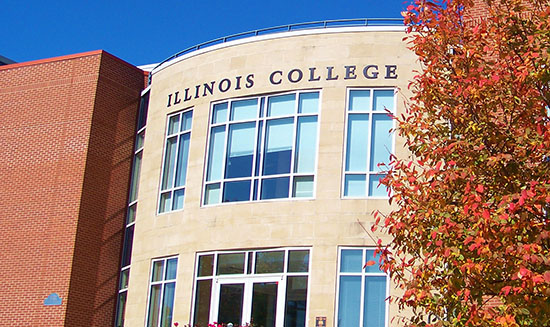 HauntedIllinois.com - Troy Taylor's Review of Haunted Illinois College in Jacksonville, Illinois.