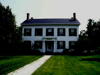 The Smith House at Illinois College.