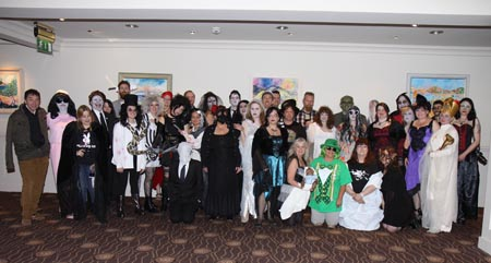 Costume ball Group Pict.