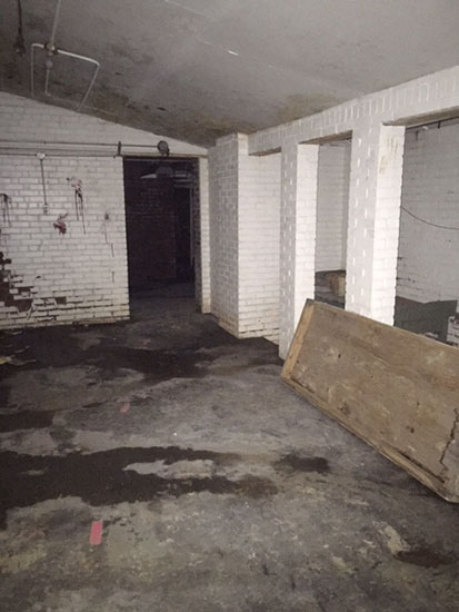 Rumored to be one of the most haunted parts of the building, the old locker rooms at Milton School have a history of frightening visitors.